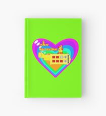 WE ALL LIVE IN A YELLOW TIME MACHINE  Hardcover Journal