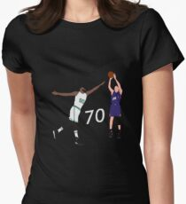Devin Booker 70 Points Jumpshot Women's Fitted T-Shirt