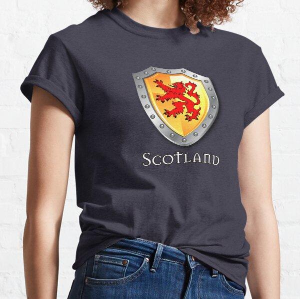 Scotland Lion Rampant Shield Classic T-Shirt