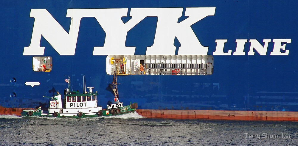 NYK Line by Terry Shumaker