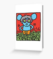 Andy Mouse #3 Greeting Card