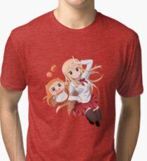Umaru-chan Tri-blend T-Shirt