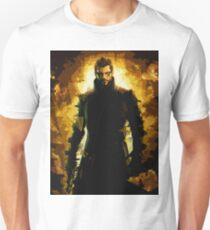 Deus Ex Human Revolution v6 Unisex T-Shirt