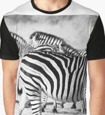 Zebra in black and white Graphic T-Shirt