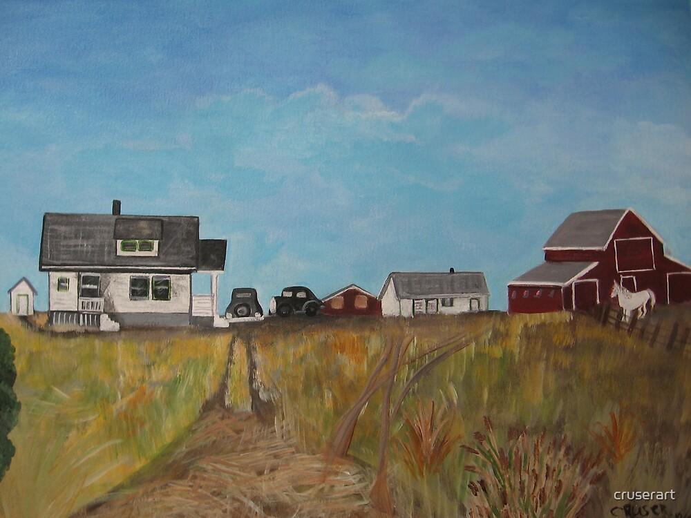 Uncle Tom's Farm by cruserart