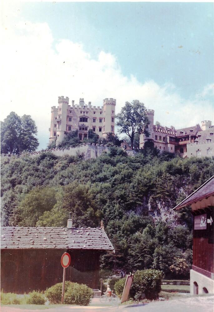 Bavarian castle 1969 by Patrick Ronan