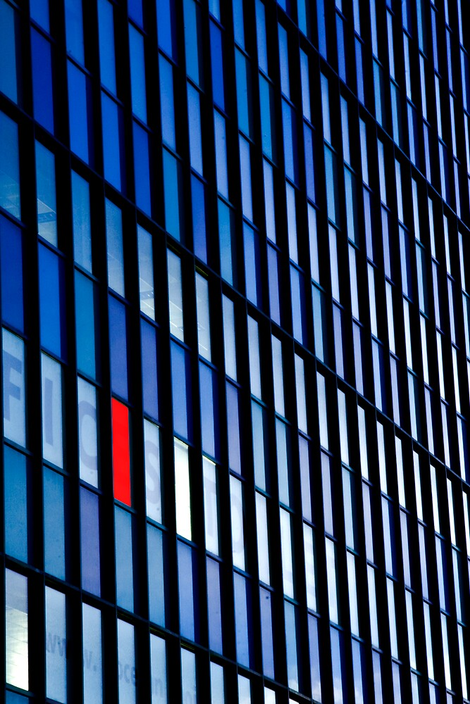 """The Red Window"" by Chris Clark"