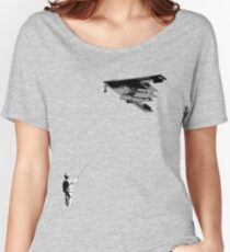 Stealth (There is a difference between childs play and playing childishly) Women's Relaxed Fit T-Shirt