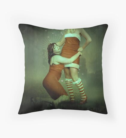 make-believe Throw Pillow