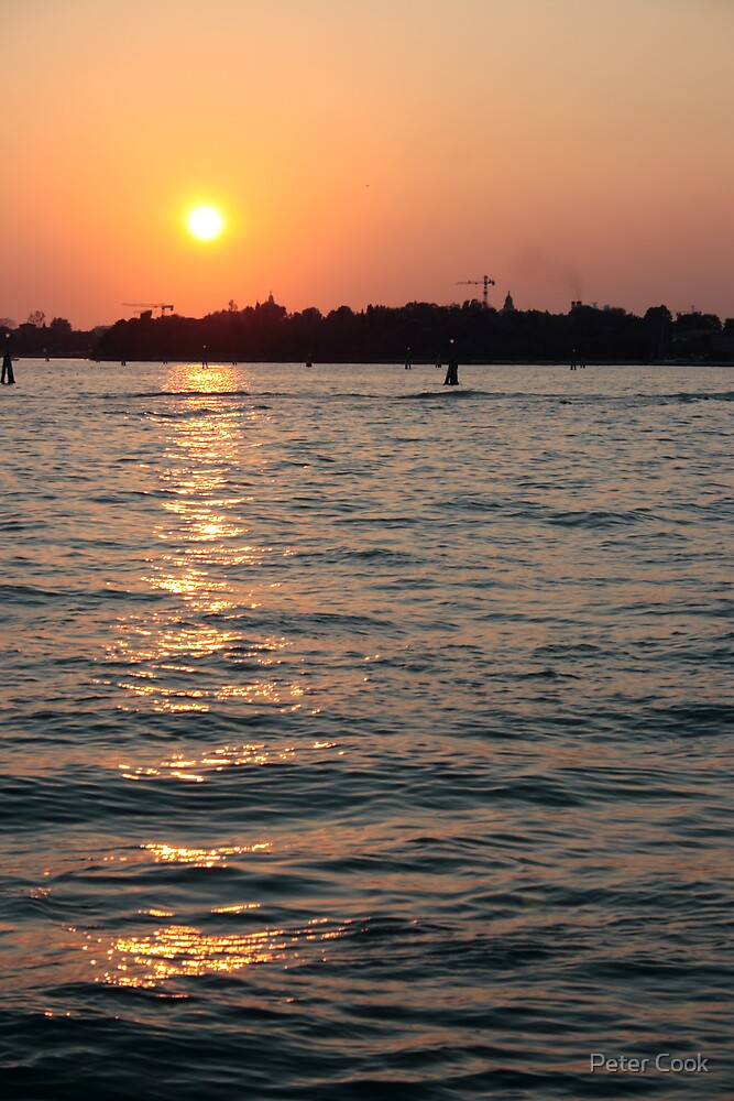 A Venetian Sunset by Peter Cook