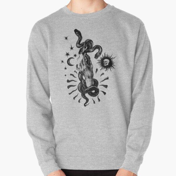 Martial Snake Pullover Sweatshirt