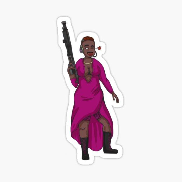 Deponia-Style Rihanna Sticker