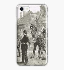 Victorian Style Congestion in London iPhone Case/Skin