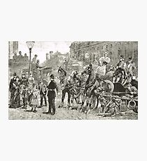 Victorian Style Congestion in London Photographic Print