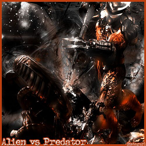 Alien vs. Predator by Sistagurl