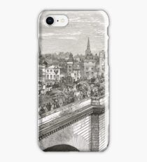 London Bridge in the 19th Century iPhone Case/Skin