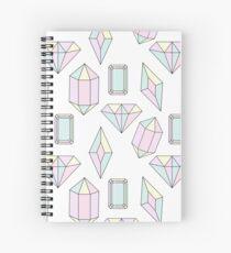 Crystal Diamond Spiral Notebook