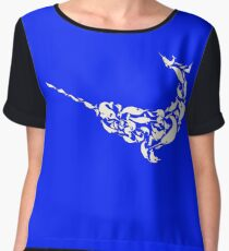 The Narwhal fromNarwhals Chiffon Top