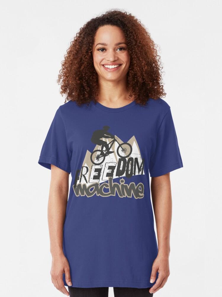 Alternative Ansicht von Freedommachine Slim Fit T-Shirt