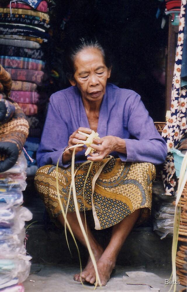 Weaving Bali by Betts