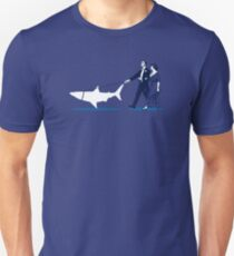 Walking the Shark Unisex T-Shirt