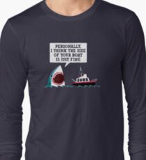 Polite Jaws Long Sleeve T-Shirt