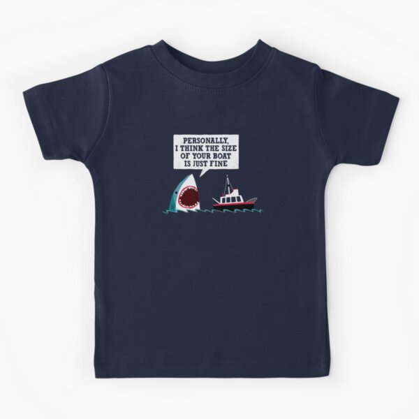Polite Jaws Kids T-Shirt