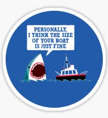 Polite Jaws Sticker