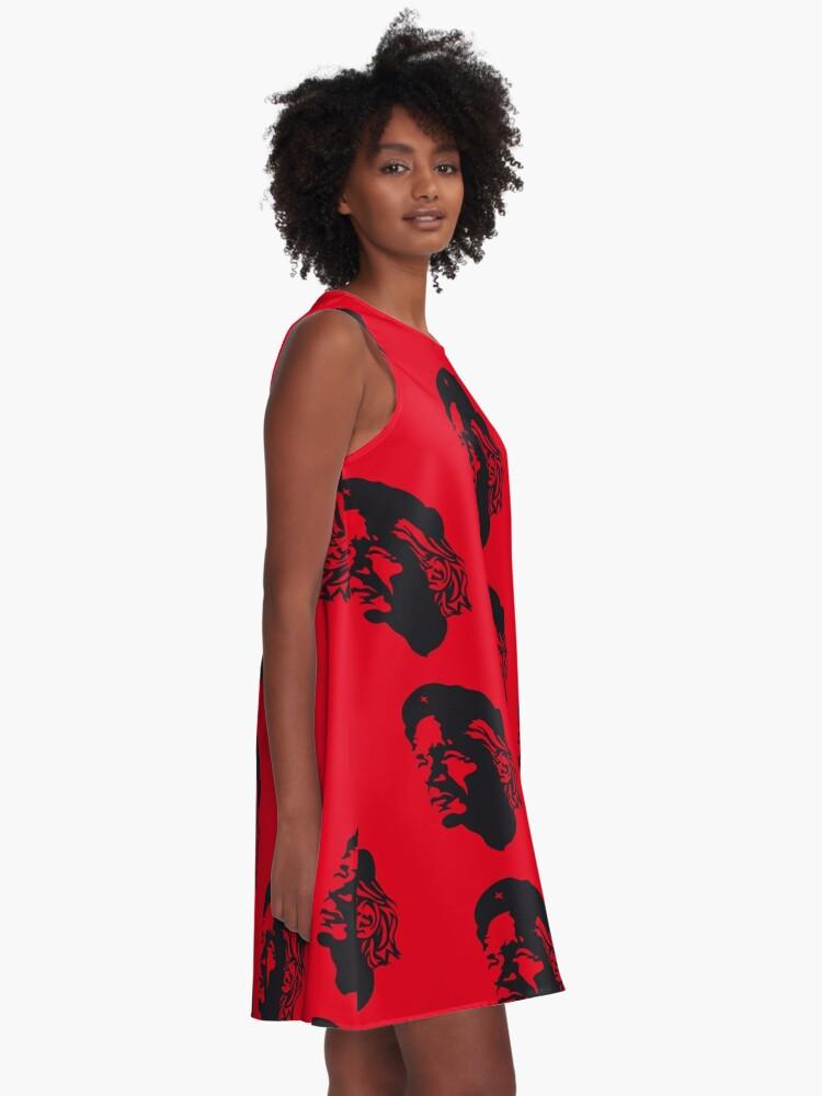Alternative Ansicht von Julian Guevara A-Linien Kleid