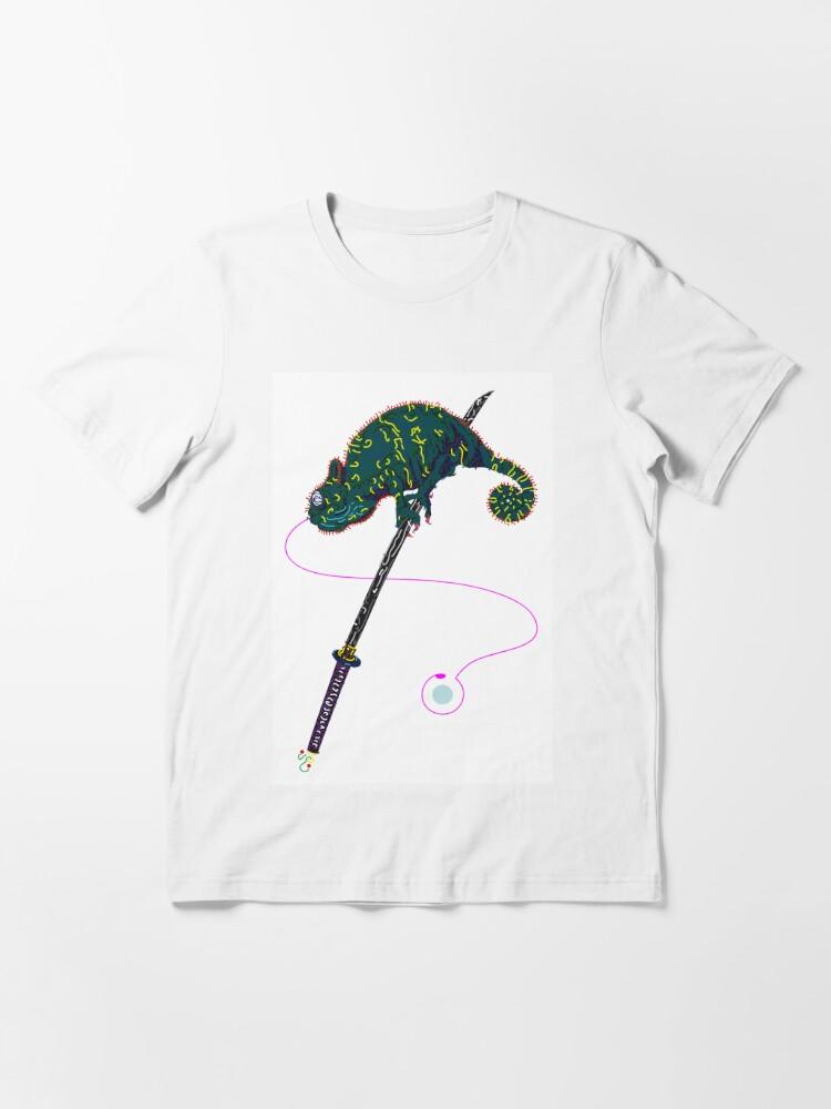 Alternative Ansicht von Samurai Chameleon Essential T-Shirt