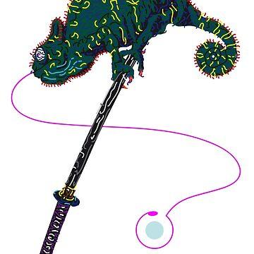 Samurai Chameleon von Rektozhan