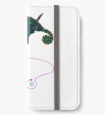 Samurai Chameleon iPhone Flip-Case/Hülle/Skin