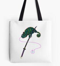 Samurai Chameleon Tasche