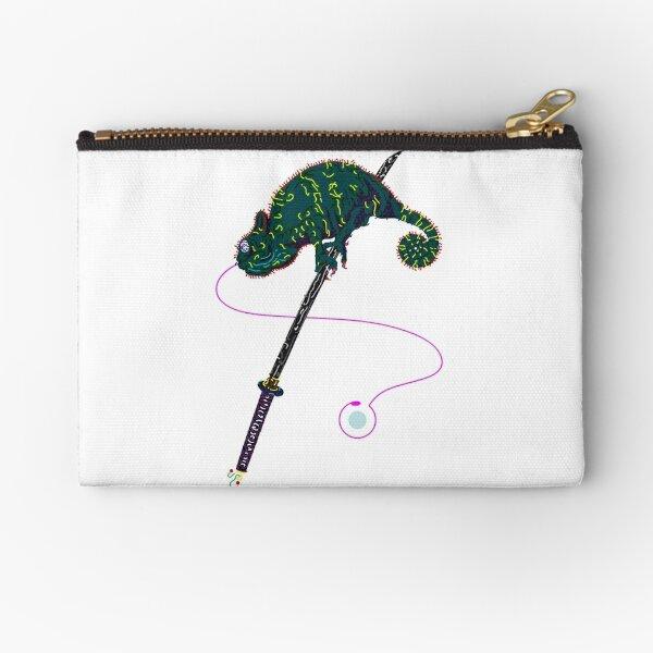 Samurai Chameleon Täschchen