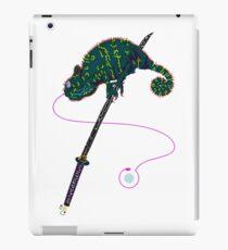 Samurai Chameleon iPad-Hülle & Skin