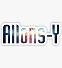 Allons-Y Sticker