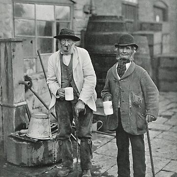 Bidford Mop Sippers & Topers Circa 1906 by artfromthepast