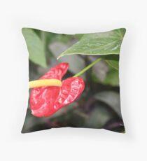 A Flowering Beauty Throw Pillow