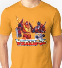 Optimus Prime and Rodimus Unisex T-Shirt
