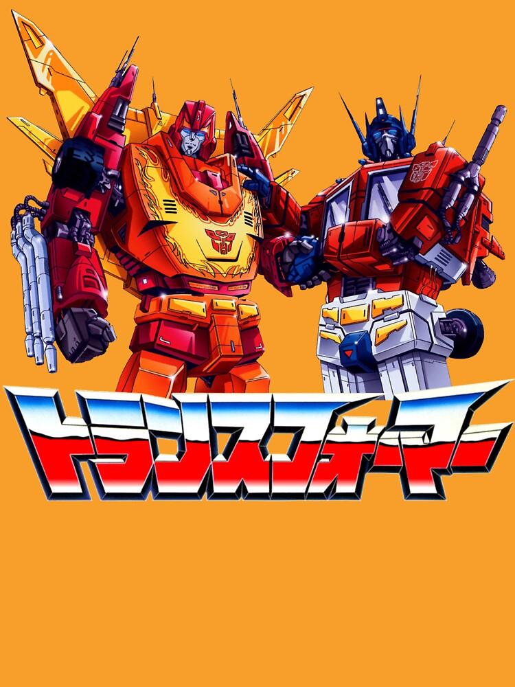 Optimus Prime and Rodimus by Fixatron