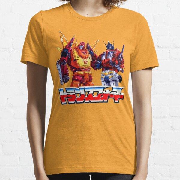Optimus Prime and Rodimus Essential T-Shirt