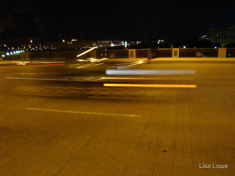 Car Blurr by Lisa Lowe
