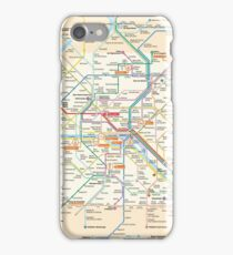 Paris Subway Map iPhone Case/Skin