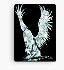 """""""I Am The Angel From Above"""" Canvas Print"""