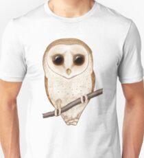 Big-Eyed Barn Owl Unisex T-Shirt