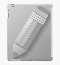 pencil iPad Case/Skin