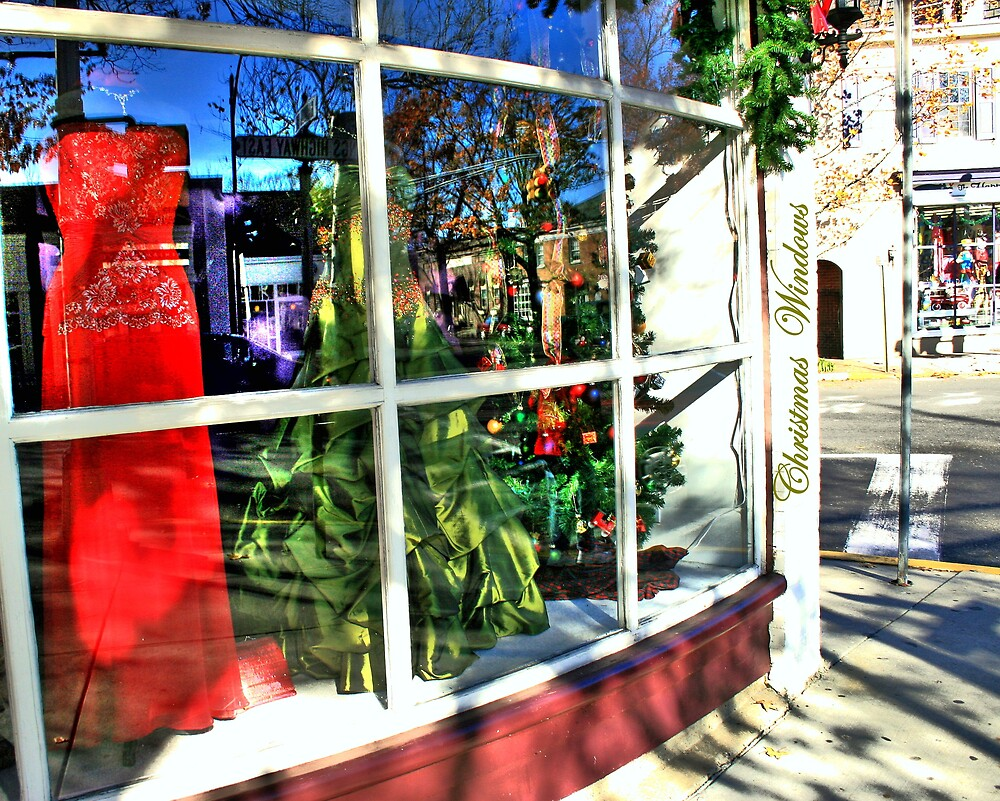 Chistmas Windows by Juliebcole