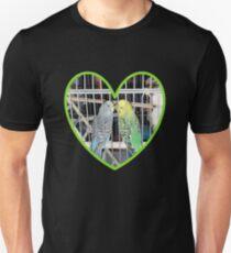 Kissing Parakeets Unisex T-Shirt