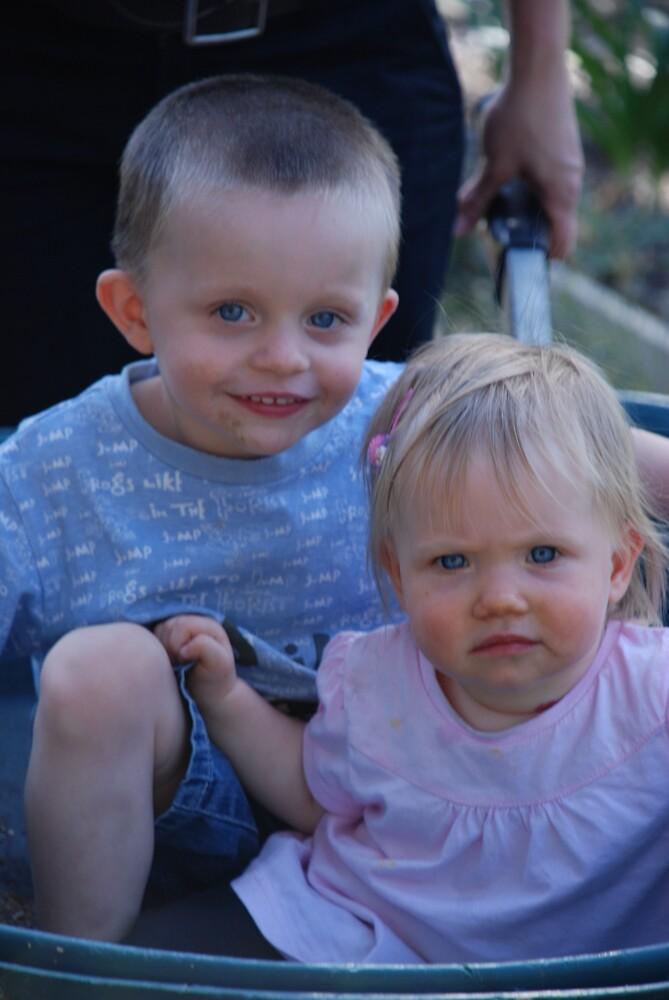Blue Eyed Babies by Akeg22