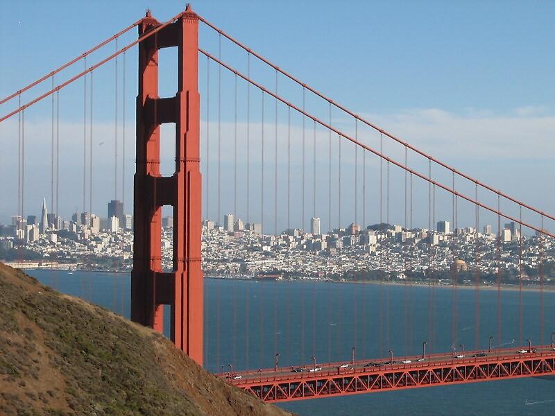 Golden Gate Bridge by Deborah Stewart